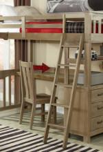 seaview loft bed twin