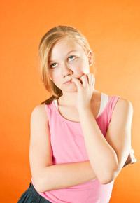 anxiety in teen girl